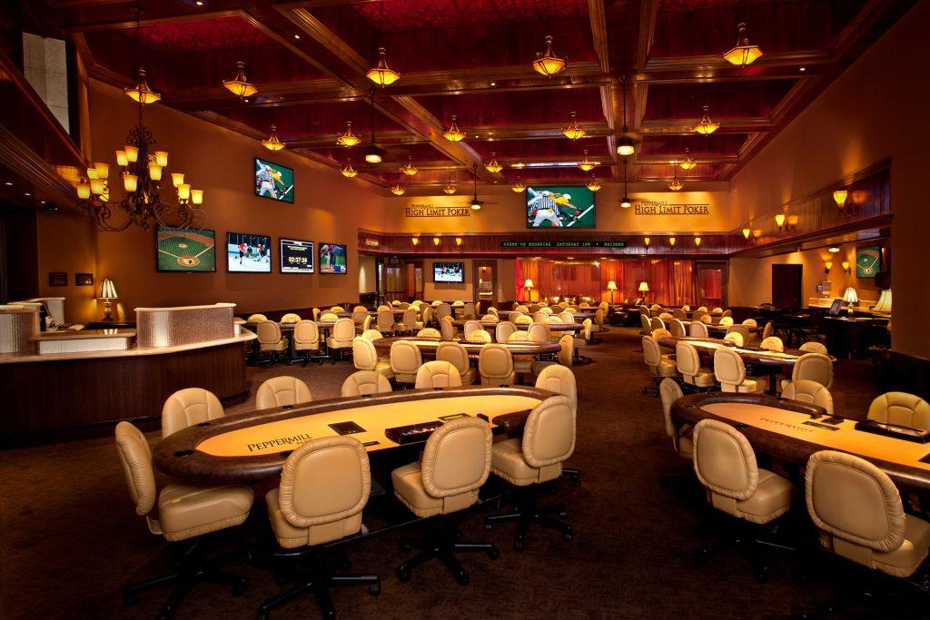 26 Peppermill Poker Room Main Interior 2